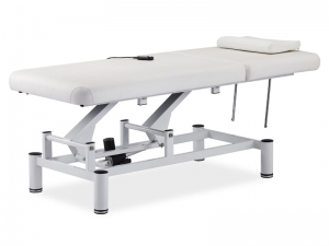 白色电动美容床